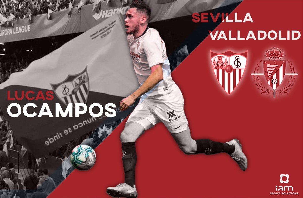 🔥 MATCH DAY!! 🔥 We are @SevillaFC 💪🏻⚪🔴 #SevillaFCRealValladolid ⚽🏟 #LO5️⃣