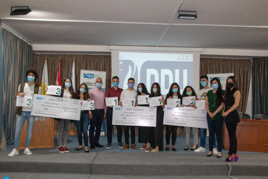 "NDU-SC hosted its fourth ""Young Entrepreneurship Showdown"" with the Intilaqa, RobenFood, and Planterest projects wining First, Second, and Third prize respectively. More: https://t.co/eT8ZRg8p5e #NDUnews https://t.co/6uwAREXlv2"