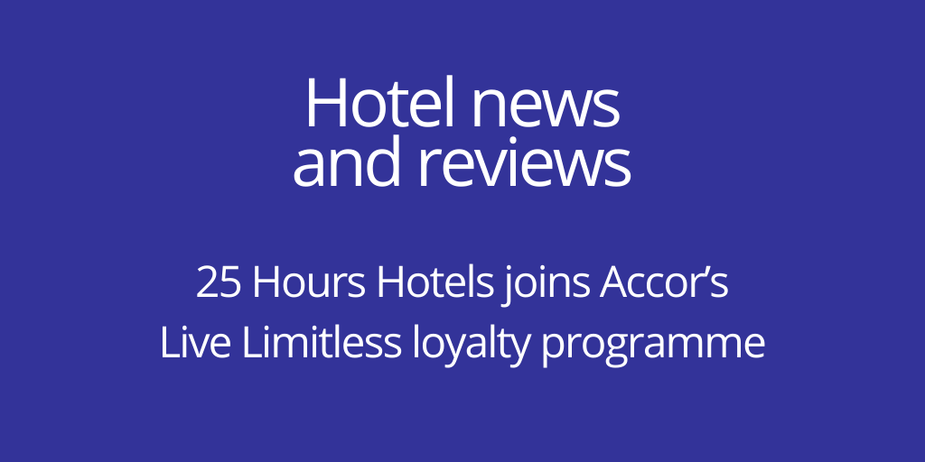 25 Hours Hotels has joined Accor's Live Limitless loyalty programme. 25 Hours Hotels operates 13 hotels in German-speaking countries as well as one in Paris.   https://t.co/v13WC4X8LC  via @BTUK   #BusinessTravel  #Hospitality  #Accor  @25hourshotels https://t.co/Ygky9W2jRU