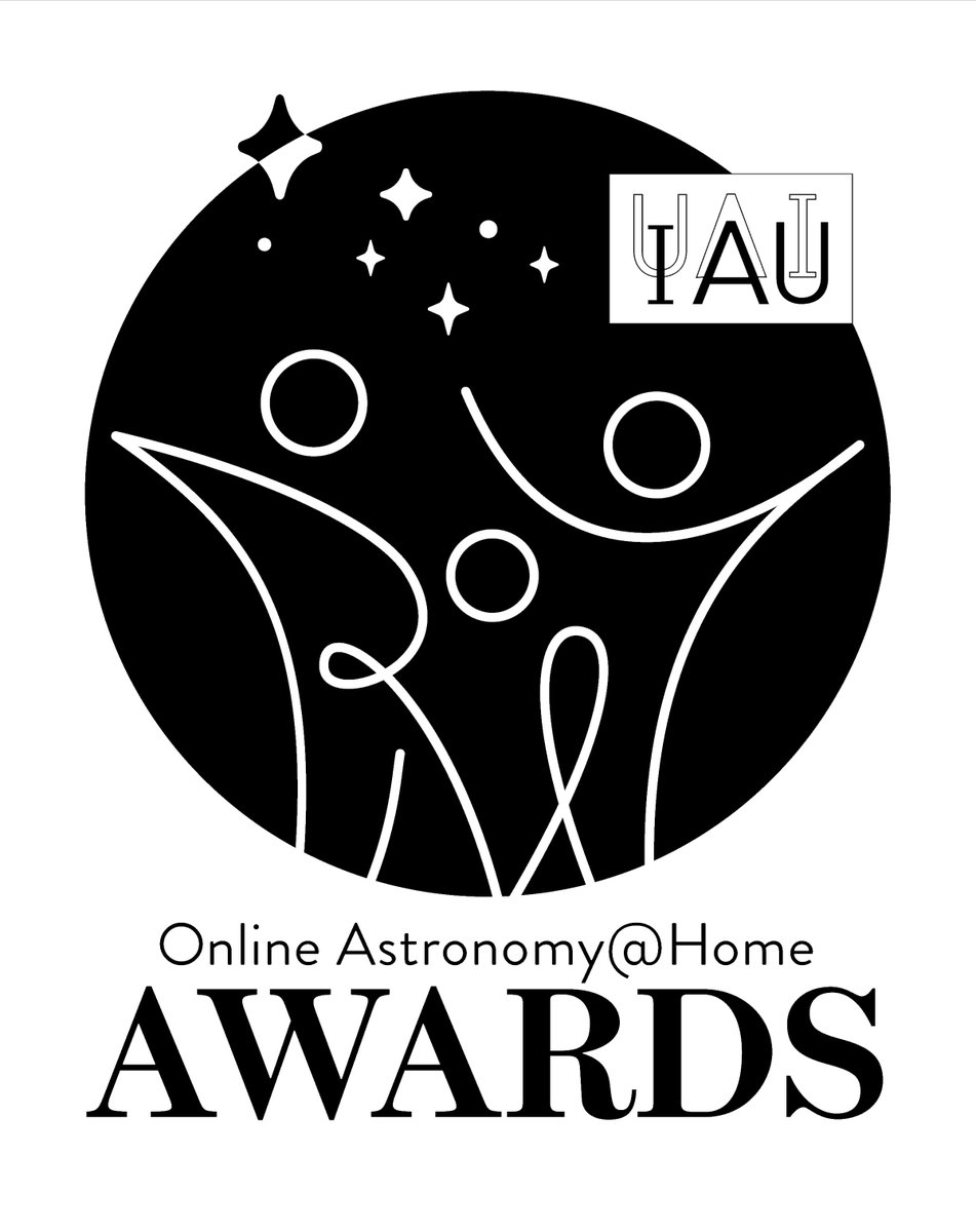 #IAUoutreach The @IAUoutreach is hosting the IAU Online Astronomy@Home Awards. Anybody hosting an online astronomy-related event is welcome to apply. The first deadline for the two-part application is on 31 July 2020. Learn more about the awards here: iau.org/public/iauoutr…