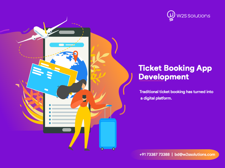 If you're searching for a reliable and professional #AppDevelopmentCompany to develop #TicketBookingApp for your business, then get in touch and discuss your plan with us.  Get started with #W2SSolutions -  https:// bit.ly/2NutIw7    .<br>http://pic.twitter.com/NuHgHzLZTp