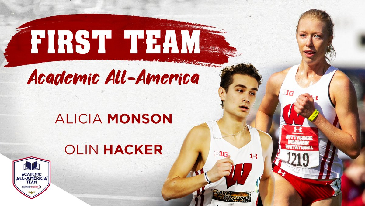 Congratulations to @leashamonson and @HolinHacker on earning first-team @CoSIDAAcadAA honors!   Read all about them: https://t.co/PtFiORmjSR https://t.co/R4K8J04DPt
