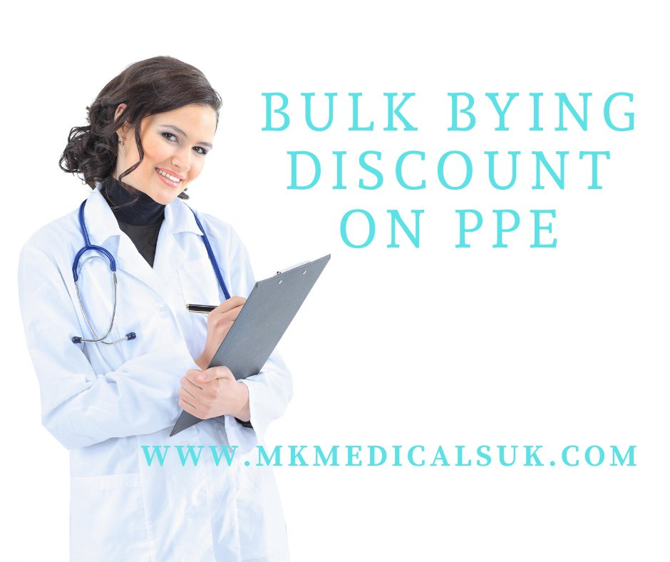 Bulk buying discount on PPE #ppe #nhs