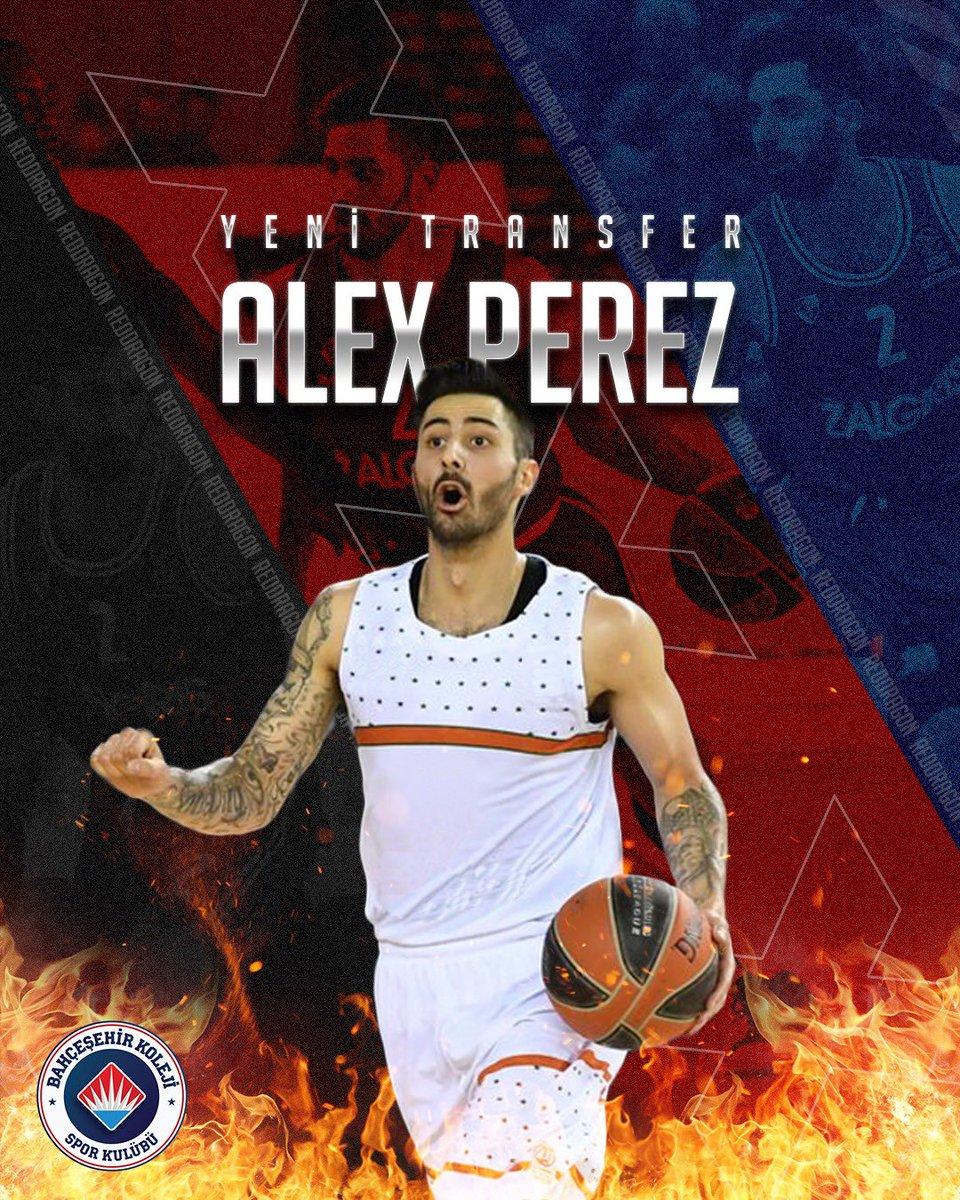 🇲🇽 Meksika Alevi 🤝🏻  Red Dragons Ateşi 🔥🐉  Ailemize hoş geldin Alex Perez! ❤️💙  Bienvenidos!  #BizBahçeşehiriz #FlyHighTogether https://t.co/8pfQy8QXOg