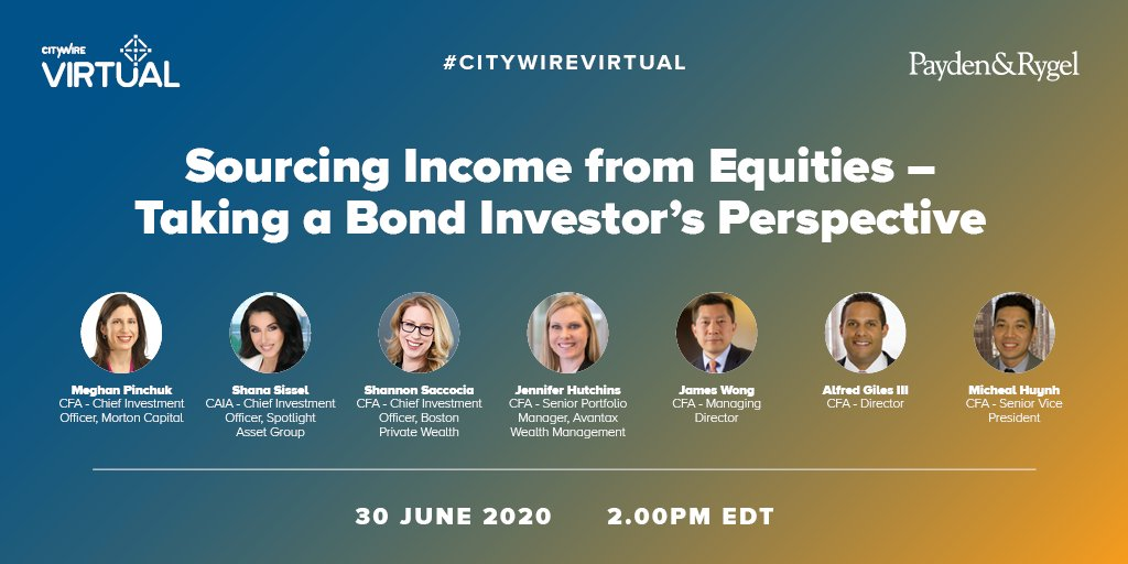 There's still time to sign up! Looks like it's going to be a really interesting discussion @CitywireUSA   #CitywireVirtual