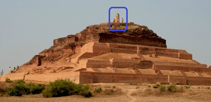 A giant pyramid temple was part of a 187 hectacre site of Ahichhatra (Bareilly) excavated in 1940. Ahichhatra finds mention in the Mahabharata as the capital of the Panchala empire. The massive pyramid temple even in its run down state measures 22m and has a huge Shv Ling on top. https://t.co/7N3xqq8wbJ