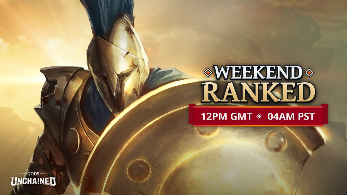 The next Weekend Ranked Challenge is almost here! Prepare for battle ⚔️ Get up to speed on the event on our blog: playgu.co/wkrd-may Don't forget to check your timezones for start times (pictured)!
