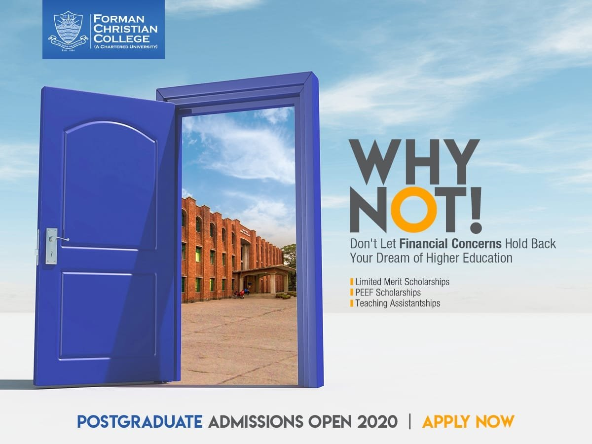 If your dreams to pursue higher education are restricted by  financial constraints, then FCCU is your place to be! The University offers various financial assistance opportunities to its postgraduate students. Apply now and fulfil your aspirations. https://t.co/p5GRPOQLMW https://t.co/OJh4sN6hry