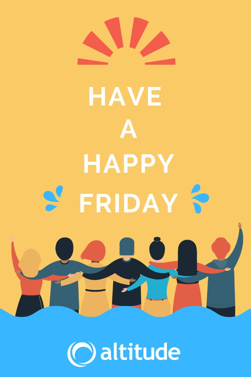 Since last June 20th was the #summersolstice, today is oficially the first Friday of #Summer2020. The whole Altitude Software Team wishes you a nice weekend!  #EveryConversationMatters https://t.co/gvoHgEycQL