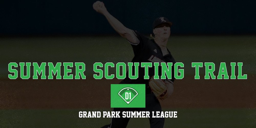 SUMMER SCOUTING TRAIL  @DSeifertD1PBR kicks off our summer coverage with an in-depth look at prospects standing out at the Grand Park Summer League. Includes players from:  ⚾️ @LouisvilleBSB  ⚾️ @ButlerUBaseball  ⚾️ @IndianaBase  ⚾️ @BallStateBB   https://t.co/qCtAijTi5m https://t.co/kzjbNKOhoB