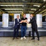 Image for the Tweet beginning: Produktionsstandort Heidelberg Shanghai erfolgreich im