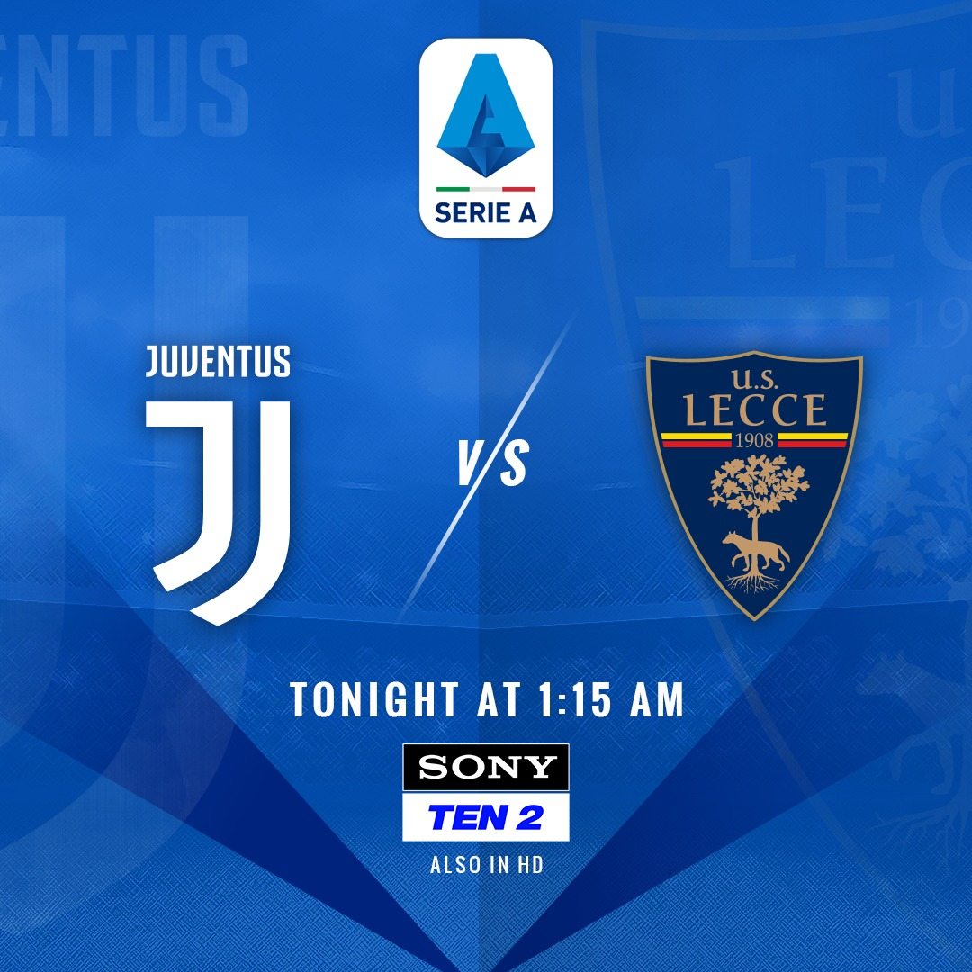 Time to witness the  @Cristiano and @juventusfc in action!   Can @OfficialUSLecce upset the table-toppers or will it be an easy victory for Sarri's squad?    Sony Ten 2  #SonySports #SerieAonSONY #calcio #seriea #SerieATIM #WeAreCalcio #JuventusLecce #juventus #ronaldo<br>http://pic.twitter.com/mxF14ec8Uo