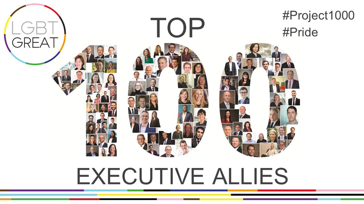 #Pride is about celebrating differences and allying to one another. SJP is proud to be represented in the Top 100 Executive Allies. Click here to discover the 100 leaders demonstrating support to others: https://t.co/Dmz3UV1vTu @LGBTGreat  #Project1000 #YouMeUsWe https://t.co/lk3ecKGvNK