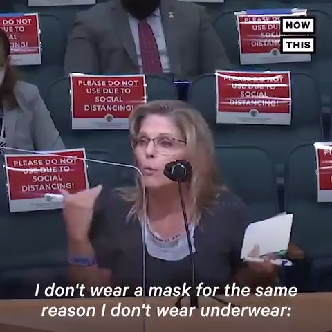 'I don't wear a mask for the same reason I don't wear underwear: Things gotta breathe' — These Floridians warned of satanism, death, and pedophilia over a mask mandate https://t.co/sT0sxwYOiL