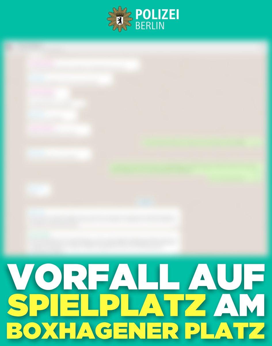 Da die Verunsicherung vieler Eltern wg. eines Vorfalls am #Boxi in #Friedrichshain besonders angesichts der begonnenen #Ferien groß scheint, haben wir alles wichtige für Sie zusammengetragen. Vertrauen Sie darauf: Unser Fachkommissariat des #LKA 1 nimmt jeden Vorfall ernst. ^tsmpic.twitter.com/G4JyBE7MUu  by Polizei Berlin