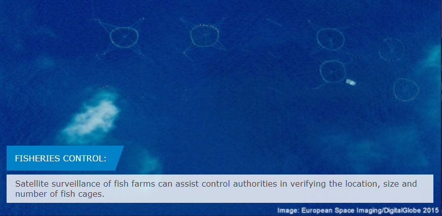 🐟 Did you know? Our @CopernicusCMS offers support to the European Fisheries Control Agency (@EFCA_EU) and the European fisheries control user community by providing satellite monitoring in the EU. ➡️ More here: ow.ly/dKm150AhAF2 #EUSpace