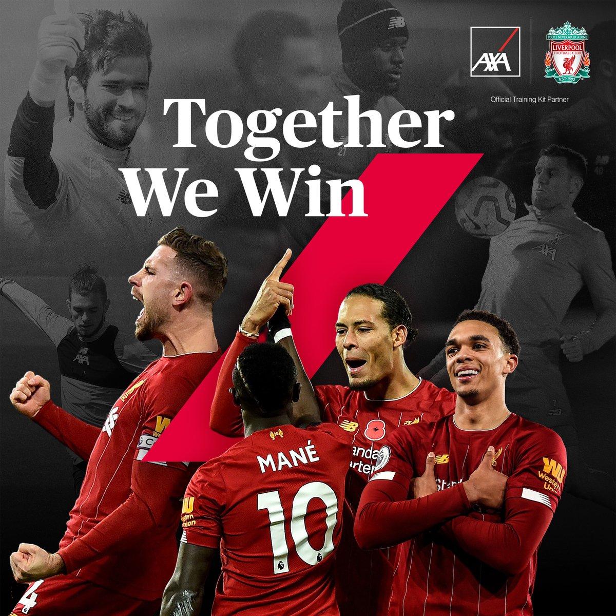 Premier Lig Şampiyonu 🏆 Bütün yıl bu başarı için birlikte çalıştık. Liverpool'u var eden milyonlarca taraftarı, oyuncuları, yönetimi ve kulübedeki herkesi tebrik ederiz. @LFC Birlikte olursak başarırız. #StaySafe #KnowYouCan #AXA #OfficialTrainingKitPartner #LFC https://t.co/sFSnP3Sef2