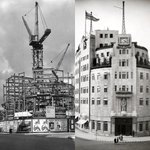 Image for the Tweet beginning: ❤️BBC #broadcastinghouse under and after