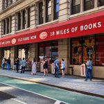 Image for the Tweet beginning: New York City's Strand Bookstore