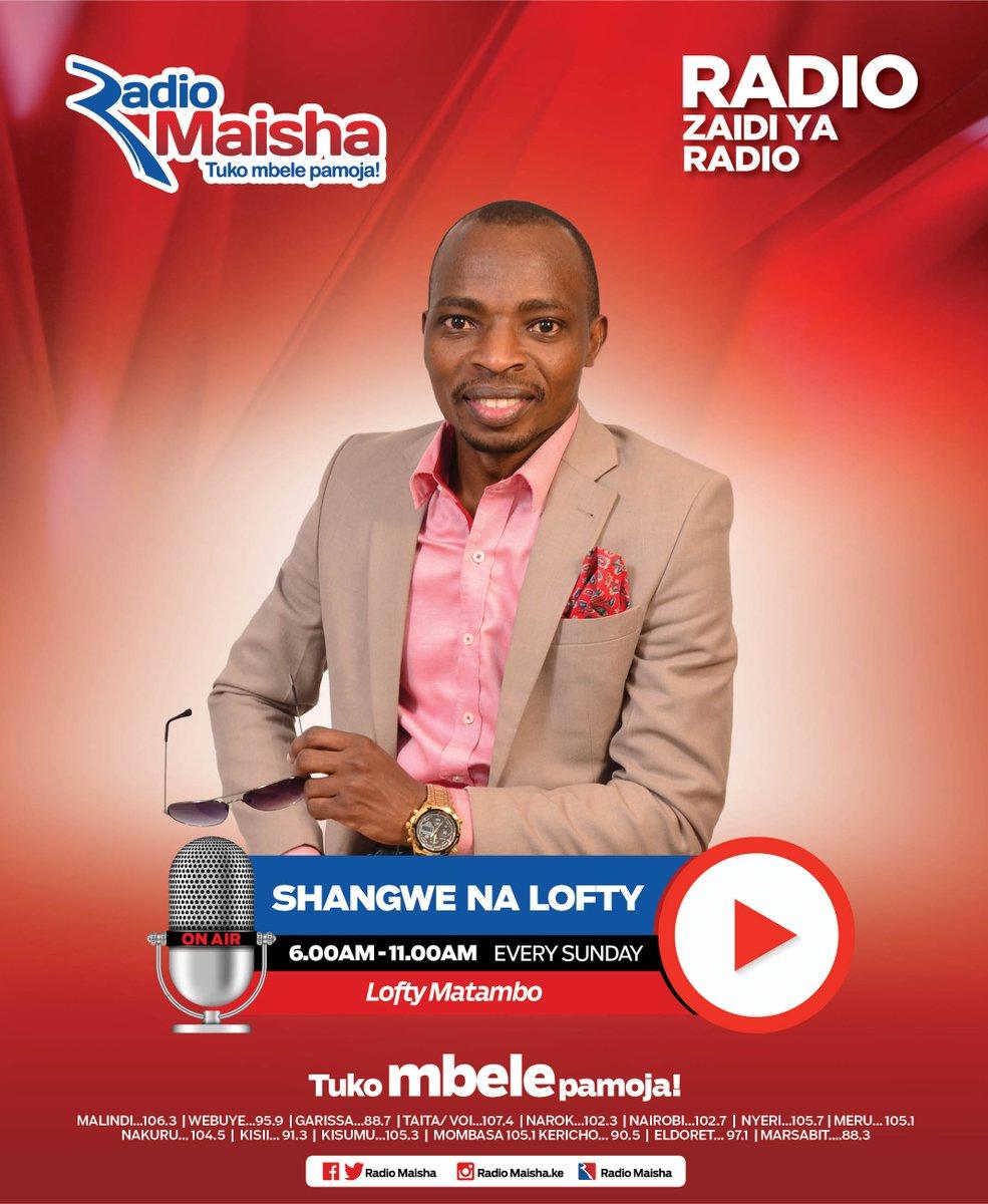 Karibu kwa Shangwe na Lofty Matambo ndani ya Radio Maisha. @loftymatambo #ShangweNaLofty