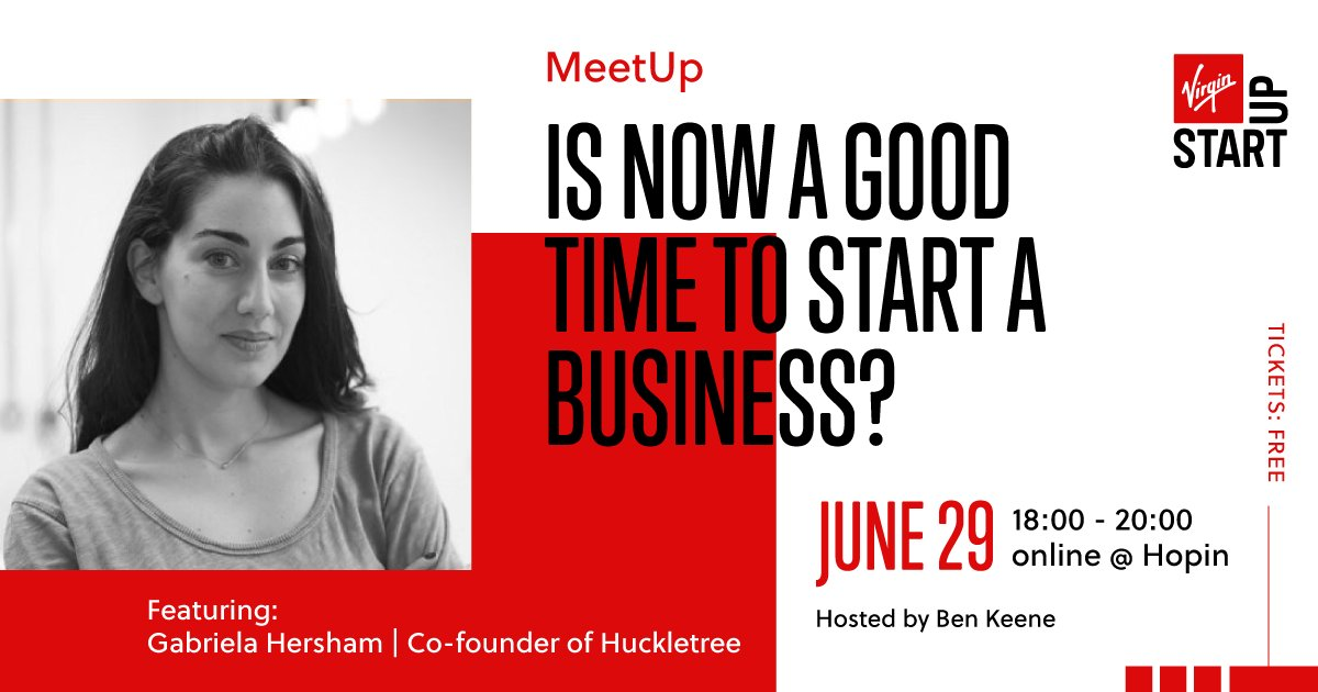 Gabriela Hersham, co-founder and CEO of London's first co-working space, @huckletree, and a renowned business advisor, will help us explore what makes a successful business at our MeetUp next week.   Join Gabriela and a host of other insightful minds: https://t.co/3cfGhTfYuB https://t.co/yHbkFCO5Tu