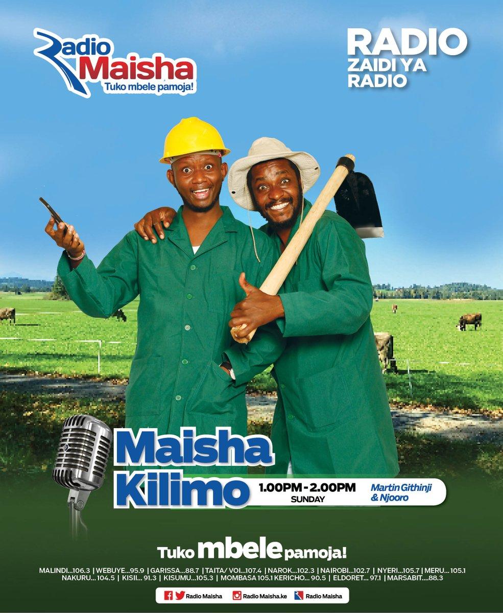 Maisha Kilimo na Martin Githinji na Njoro kila jumapili kutoka saa saba hadi saa nane mchana. #MaishaKilimo