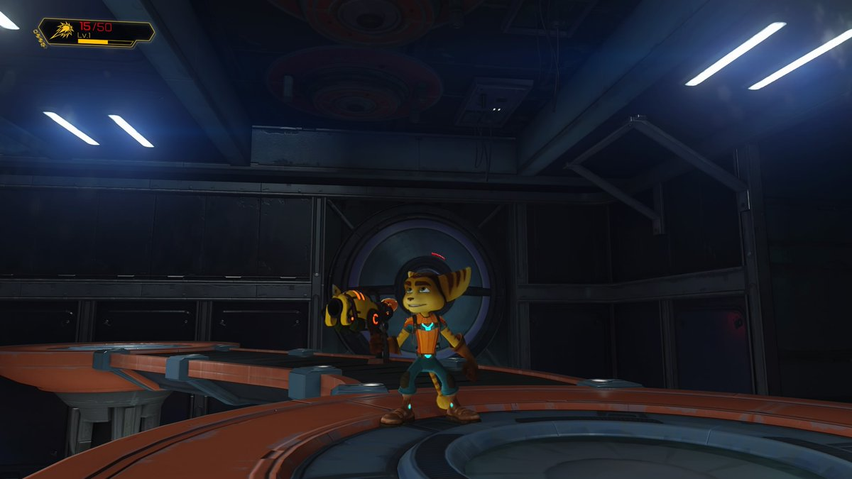 I can't believe this game's been out four years and I'm only just playing it. #Ratchet&Clank #PS4sharepic.twitter.com/pmnqqs5qOF