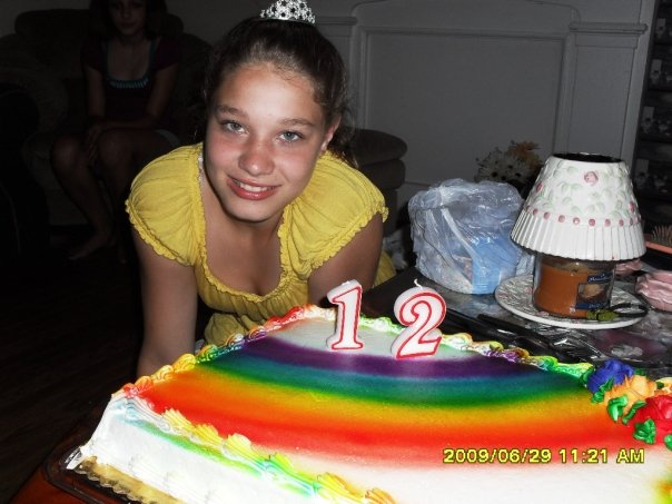 June 30 2009. 12th birthday, she should be 23 on Tues. Had we only known that monster had aspirations of murdering someone. She SHOULD be 23 now. Happy Birthday my angel. #Forever12
