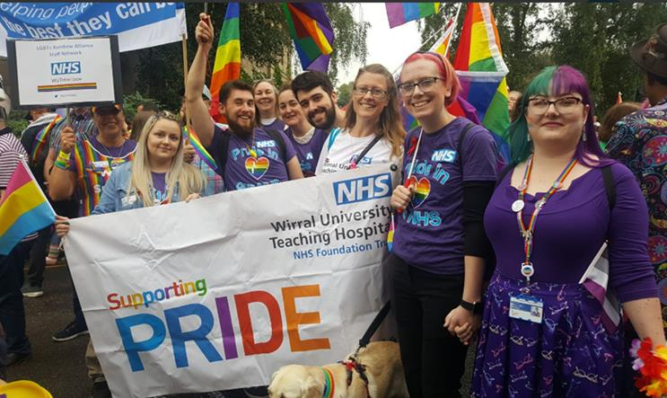 We can't celebrate as we usually do, but that won't stop us. We're celebrating #NHSVirtualPride Join in at 18.00 @VirtualNHSPride Let's celebrate together #HappyPride @WUTHstaff
