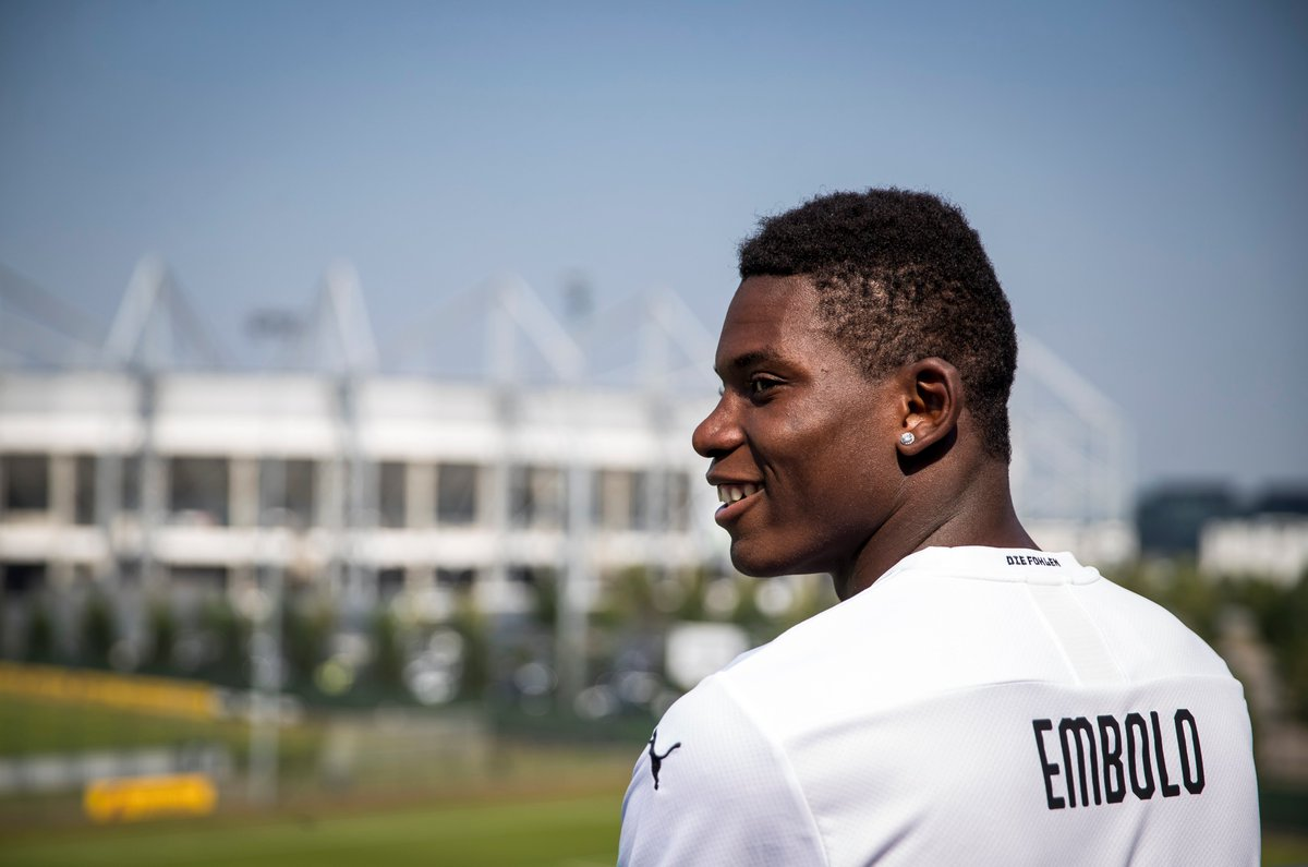 🤗 #OTD in 2019, Gladbach unveiled forward Breel Embolo 🔥  #UEL https://t.co/LxW99Uy3Ee