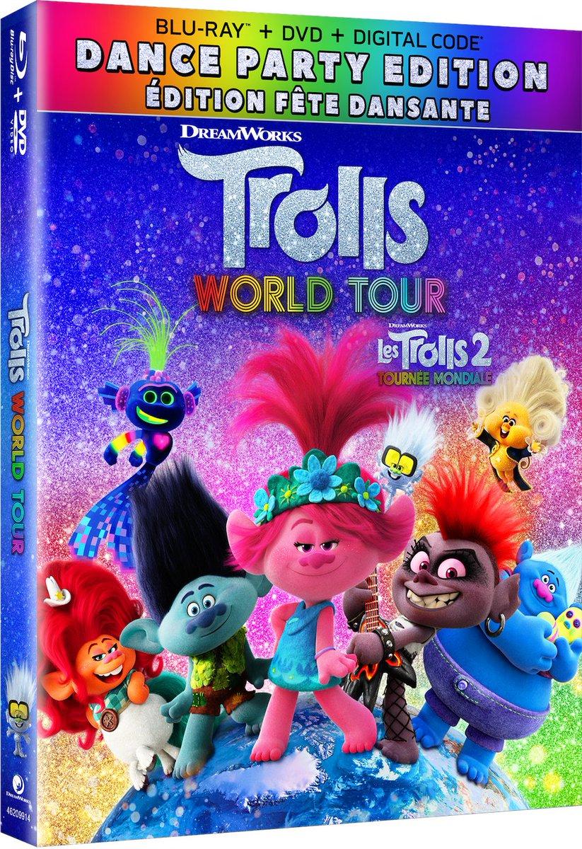 Enter to #win #TrollsWorldTour on Blu-ray™!  How: https://t.co/LMkPmM2qp8 https://t.co/ecOVAiO5Rt