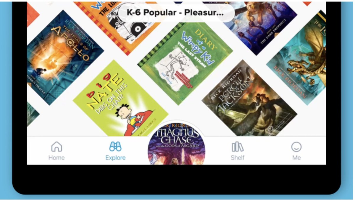 Just in time to help students with the Summer Reading Challenge, DCPS school libraries and @dcpl have partnered to offer thousands of free online ebooks for staff and students through the Sora app. Log on directly through Clever or download the app. help.overdrive.com/en-us/2220.htm