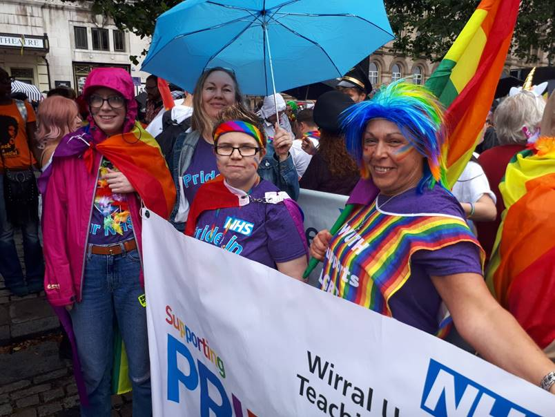 "Less than two years since our LGBT+ staff network was formed and progress has been phenomenal. Here's to the opportunities and possibilities that are still to come!"" #NHSVirtualPride #HappyPrideMonth2020 @WUTHstaff"
