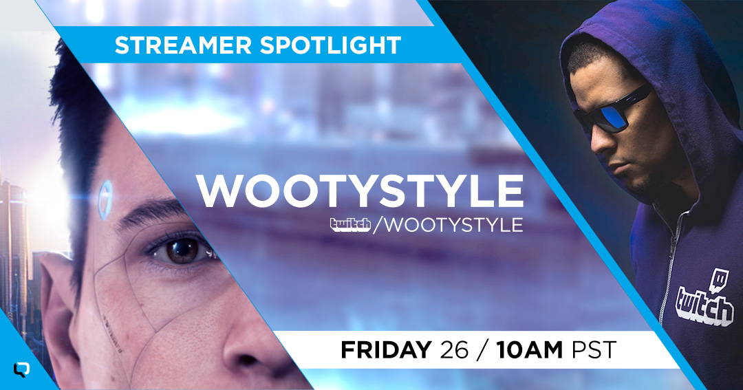 Here at #QuanticDream, we love to showcase our precious talents!  Today, we are launching our Streamer Highlighting Program on our Social Media pages!  Please join @Wootystyle at 10 am PST/ 7 pm CET: https://t.co/RtoC3xU1MD https://t.co/Q3Ot9i0ie1