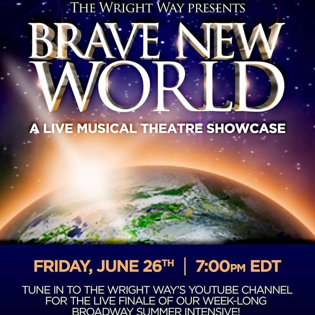 "TODAY: Watch #CursedChildNYC kid Gabriel Amoroso sing during ""Brave New World"", a musical theatre showcase at 7pm EST! Watch here:"