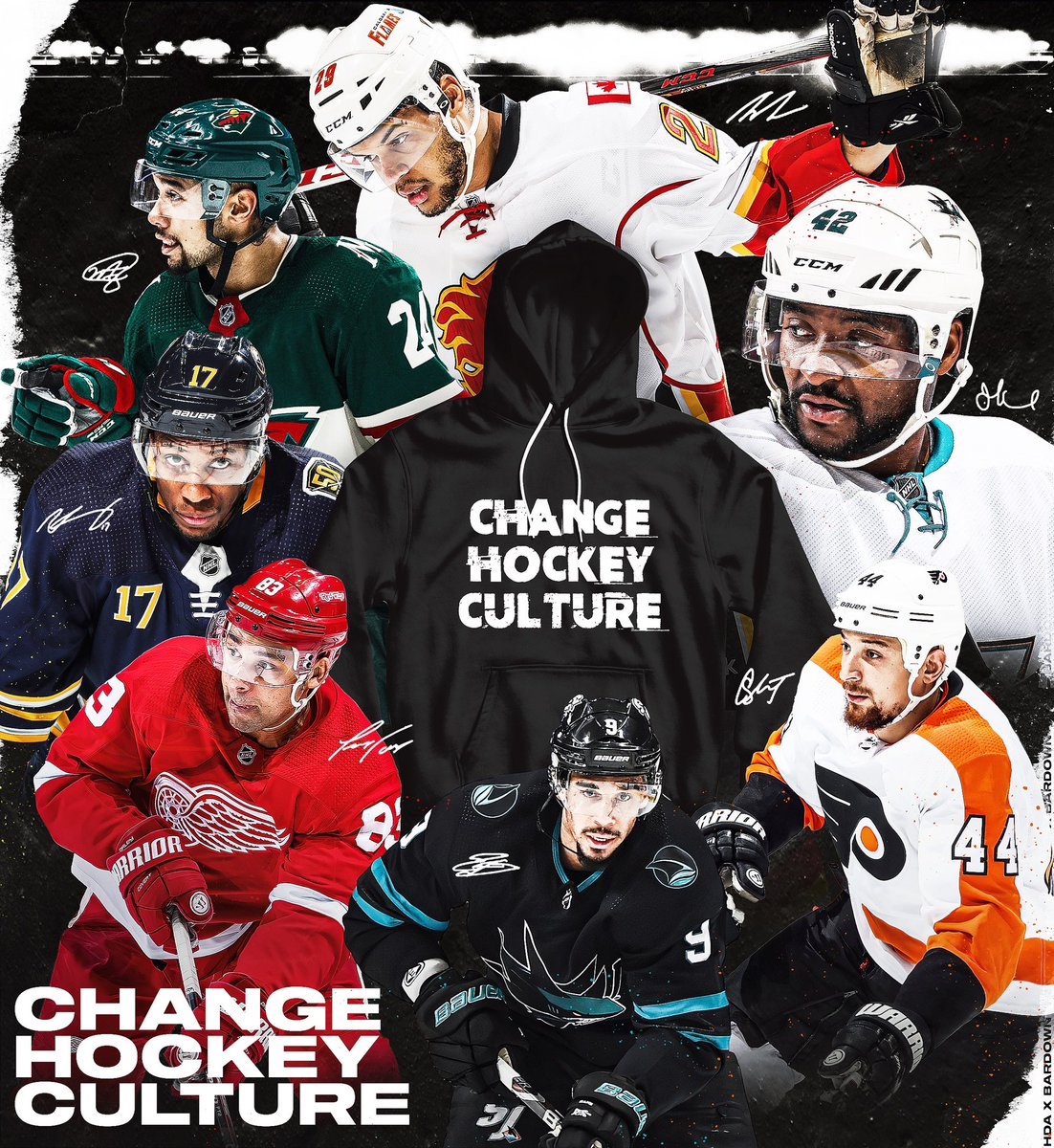 Evander Kane On Twitter Support The Hockey Diversity Alliance Changehockeyculture Puckracism Grab Your Own Shirt Or Hoodie At Https T Co Vbxaowgj8u Https T Co Szu1i95sca