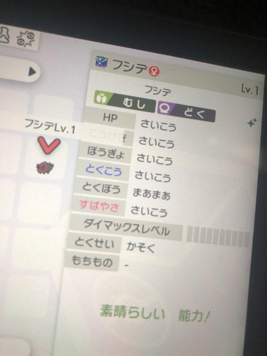 ポケモン剣盾 タマゴ 色違い 確定
