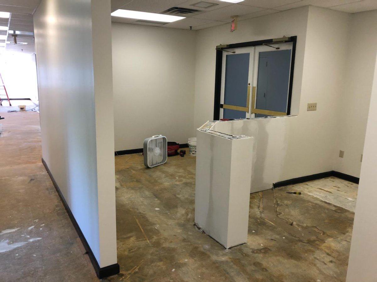 Just a few days til PTSMC Danbury's big opening!   Lots of work put in throughout the past month to get ready for Monday morning - check the #progresspics below and keep an eye out for photos of the beautiful new facility next week! #beforeafter @DanburyPatch @CityofDanburypic.twitter.com/kFErSPGi8l