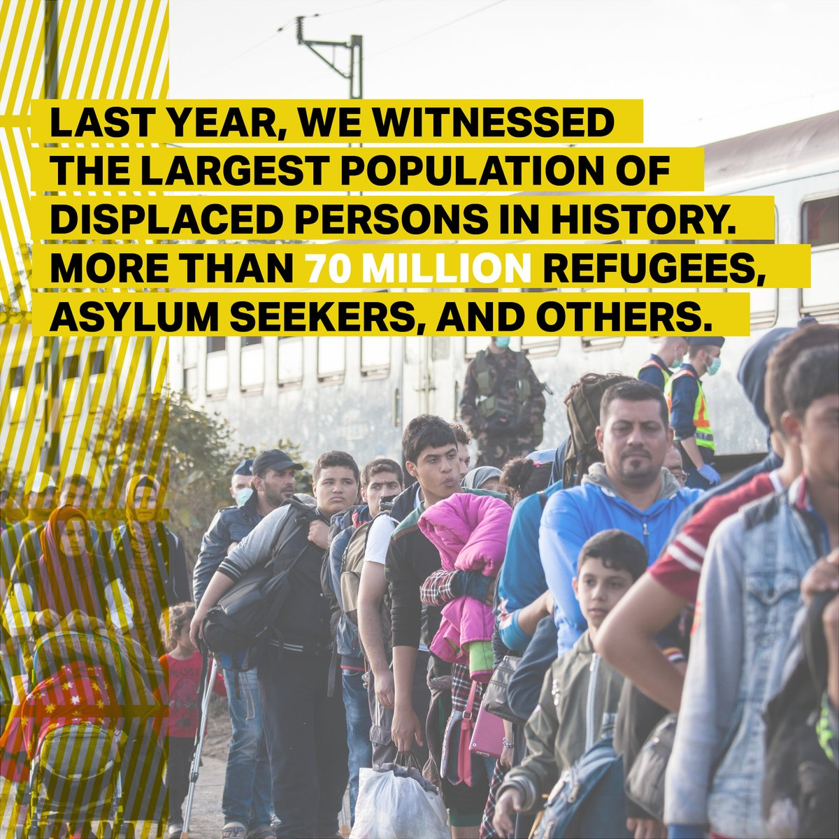 We know – the statistics are shocking. That's why we joined #70million, a campaign powered by @OLAMtogether. We call on JLM members to learn, donate, advocate or volunteer to stand in solidarity with those displaced around the world. Join the call 👉 70million.org