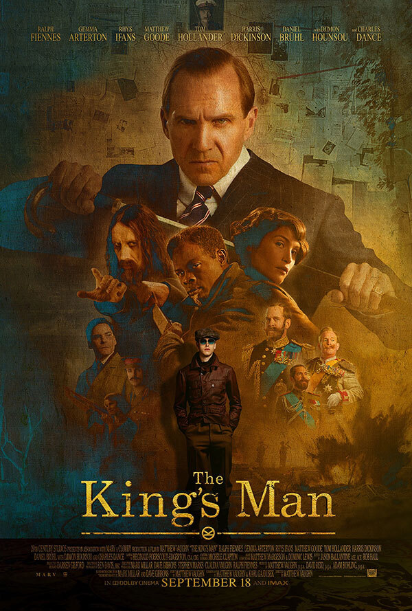 Check out this poster for @KingsmanMovie from @WEAREBOND and read more about this week's trailers and posters: https://t.co/BQzqjREfBu https://t.co/QEir9ZnLdz