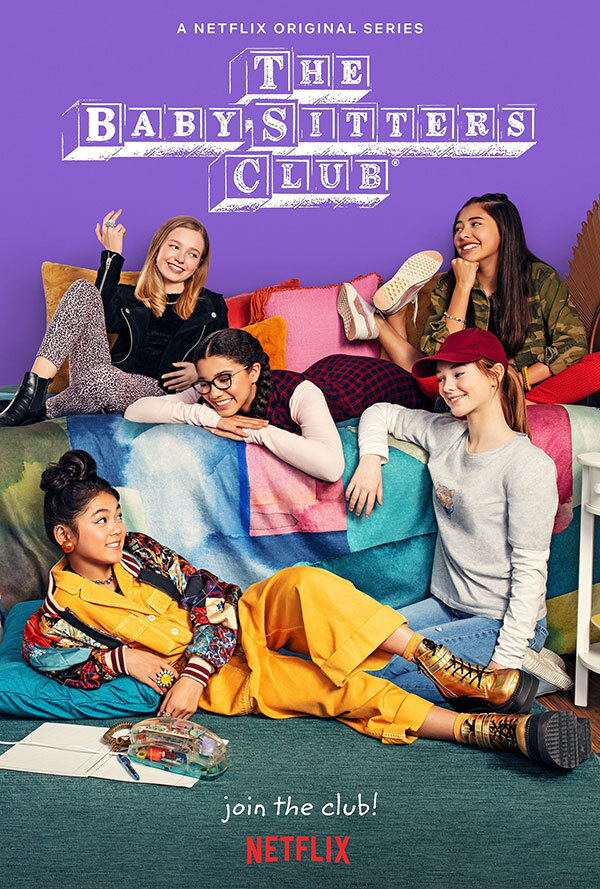 Check out this poster for The Baby-Sitters Club from @moceanla and read more about this week's trailers and posters: https://t.co/BQzqjREfBu https://t.co/L6QdIsPWda