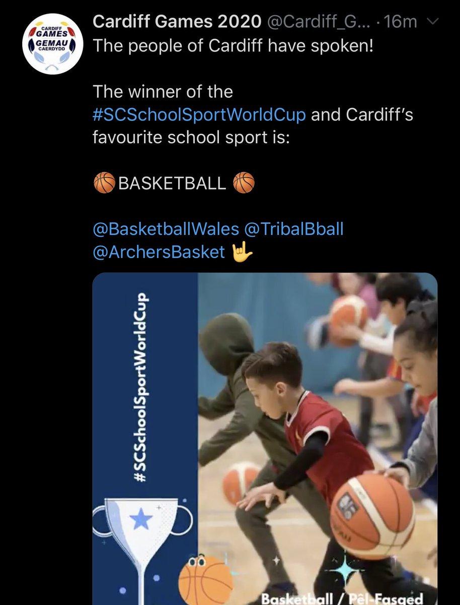 Good choice people of Cardiff #Basketball #ballislife 🏀👊🏽