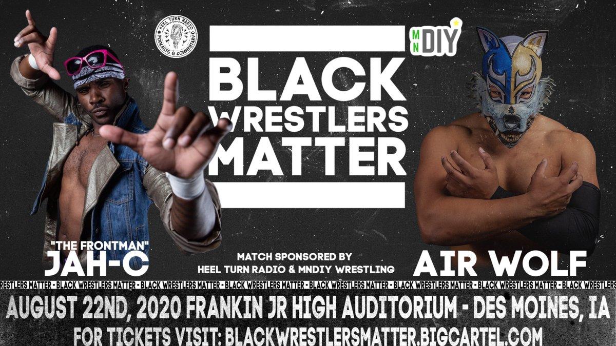 """Black Wrestlers Matter"" Event Announced For August"