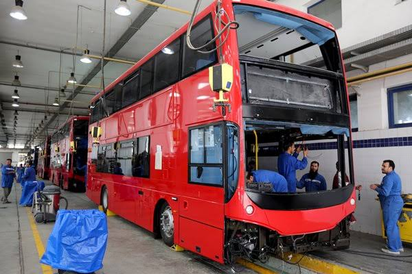 Egypt produces and exports the famous double decker buses used in London to the UK. https://t.co/Z3Zt2KcO3d