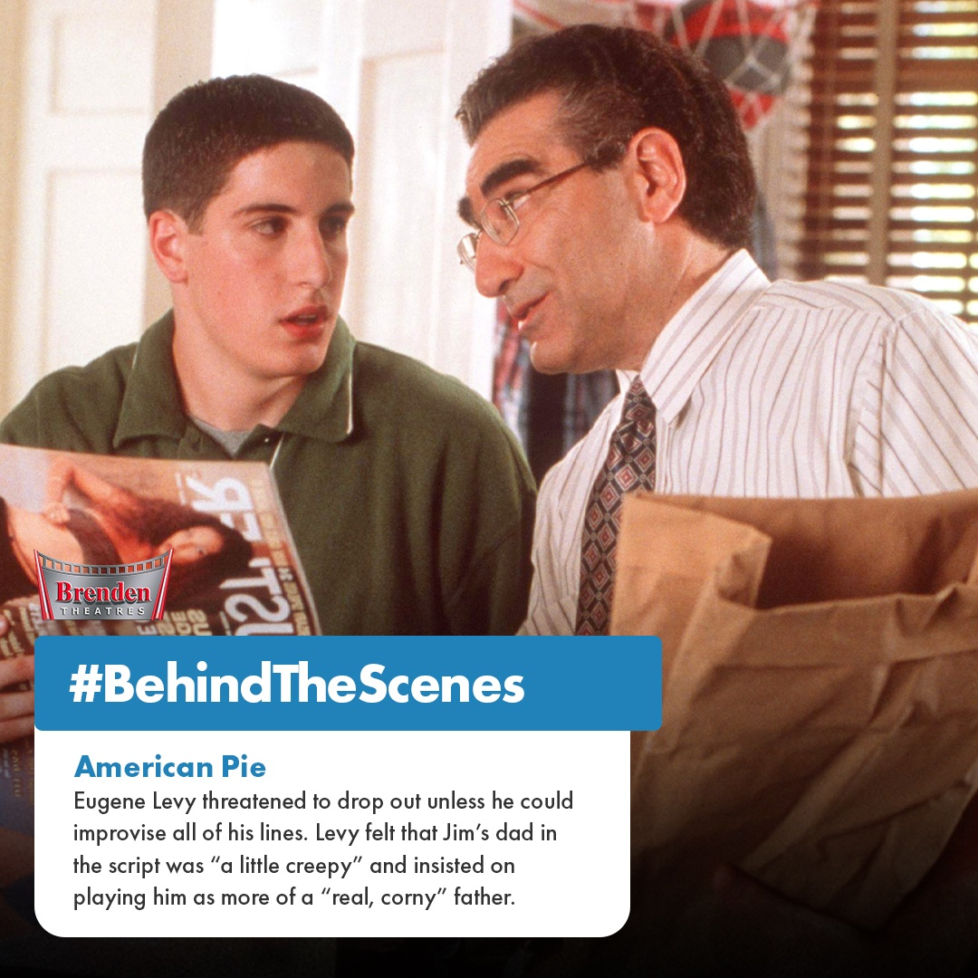 Eugene Levy had some difficulty with his character in American Pie, so he turned it into his own. #BTS #BehindTheScenes https://t.co/MWl7lr0Xft