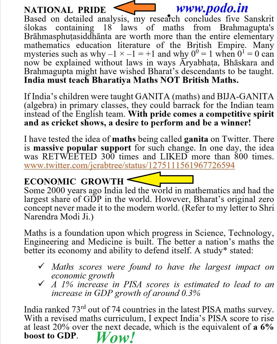 🇮🇳 National Pride + Economic Prosperity✅  That's what I'm offering India.  Knock Knock. Hello! Anybody home? Zzzz Zzzz  C'mon! Please wake up staff of @DrRPNishank!  It's time to end maths nightmares for crores of kids.  Oh yes, did you hear? National Pride + Economic Growth! https://t.co/fxp1CAwAbW