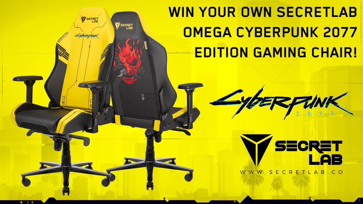 To celebrate the launch of the Secretlab Cyberpunk 2077 Gaming Chair, we have a fantastic competition! To enter:  1 - Follow us, @CyberpunkGame and @secretlabchairs  2 - RT & Like this tweet  3 - Reply to us answering – who plays Johnny Silverhand in Cyberpunk 2077?
