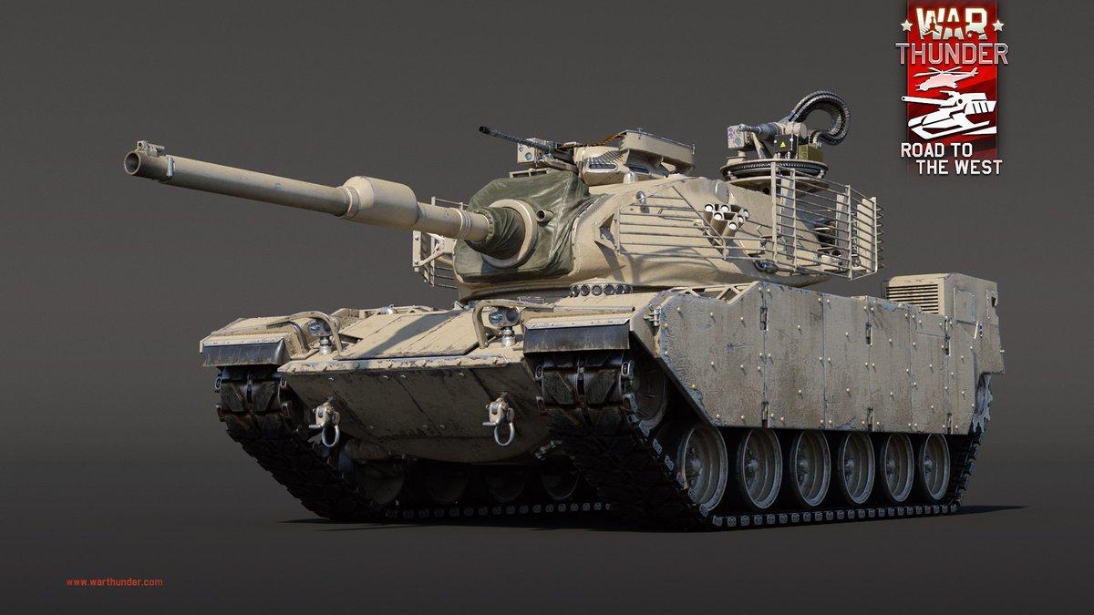 """Der #M60 AMBT wird bald als Fahrzeugbelohnung für die kommende Saison des World War Mode bei War Thunder eintreffen. AMBT ist eine Abkürzung für """"Affordable Main Battle Tank"""" (Bezahlbarer Kampfpanzer). - https://t.co/xMlkXXifSZ https://t.co/3jHxJw0AcM"""
