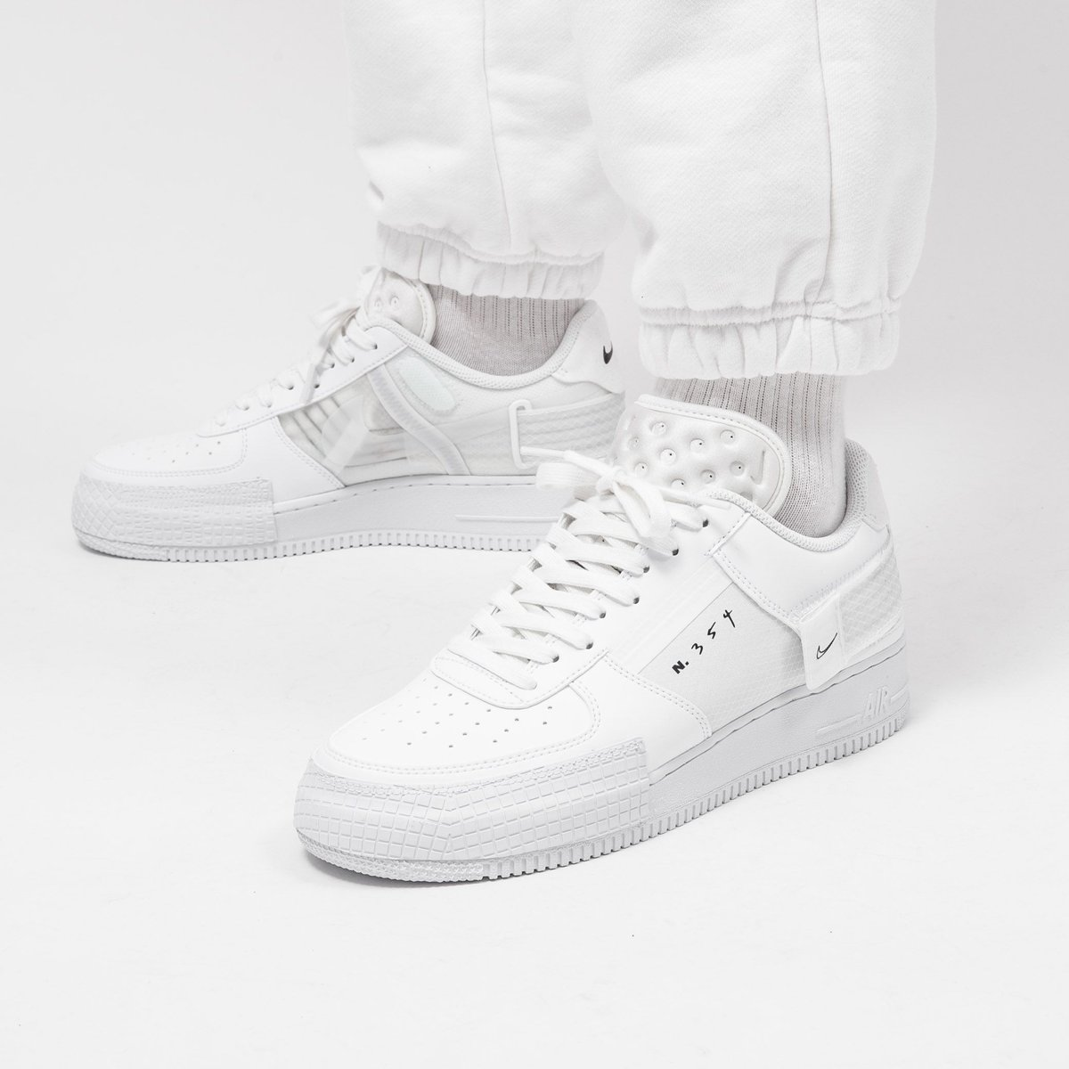 air force 1 type 2 blanc