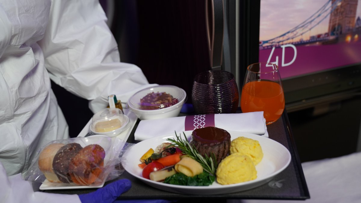 Delicious, nutritious, and plentiful. That's how we describe food served onboard #QatarAirways flights.
